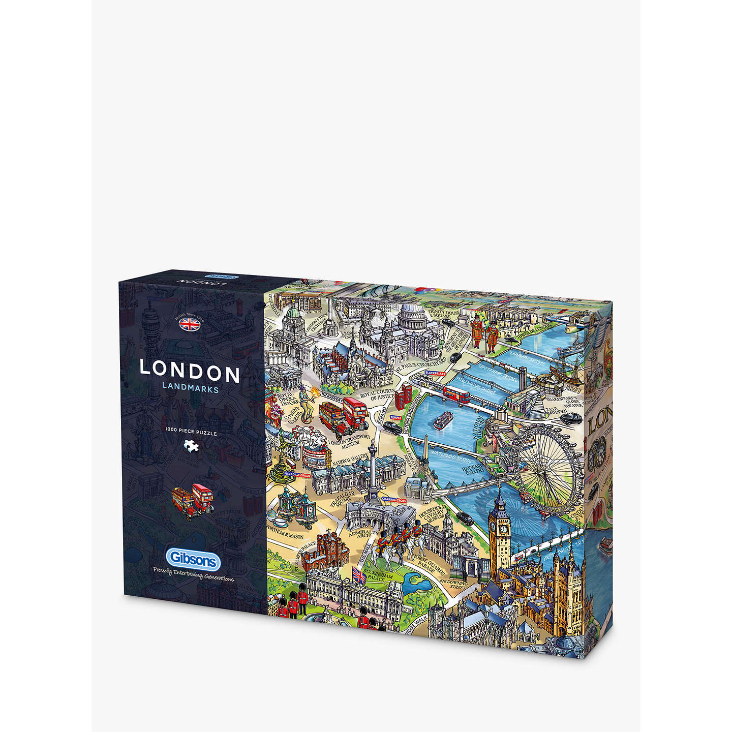 Gibsons london landmarks jigsaw puzzle 1000 pieces at john lewis buygibsons london landmarks jigsaw puzzle 1000 pieces online at johnlewis gumiabroncs Image collections