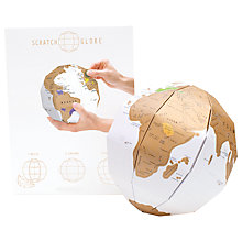 Buy Luckies Scratch Globe Online at johnlewis.com