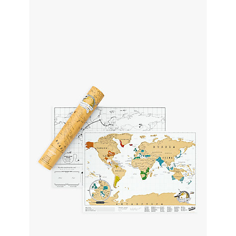 Buy Luckies Scratch Map Travel Edition Online at johnlewis.com