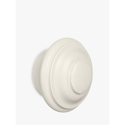John Lewis French Grey Stud Finial, Dia.35mm