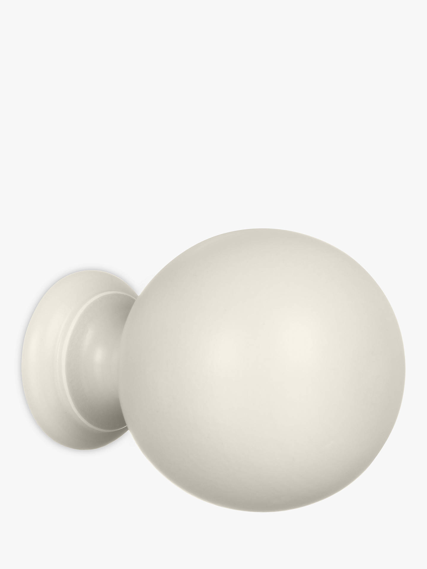 BuyJohn Lewis & Partners French Grey Ball Finial, Dia.35mm Online at johnlewis.com