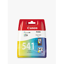 Buy Canon CL-541 Tri-Colour Ink Cartridge Online at johnlewis.com