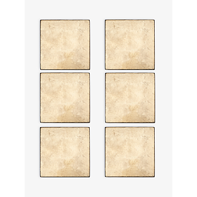 John Lewis Lacquer Coasters, Set of 6