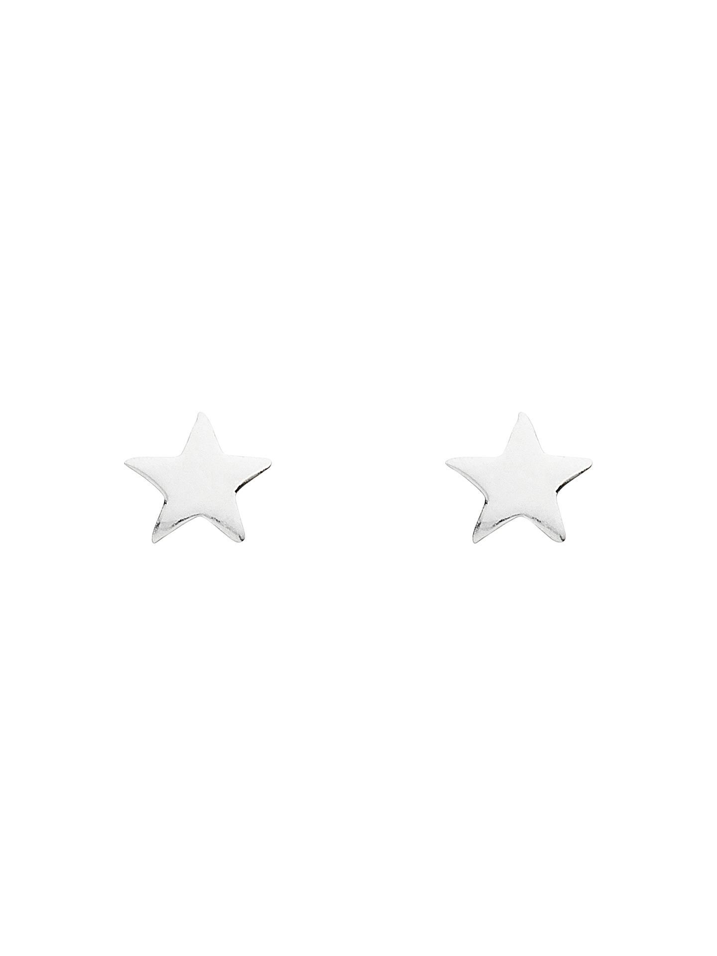 0ae579119 Buy Estella Bartlett Fine Sterling Silver Star Stud Earrings, Silver Online  at johnlewis.com