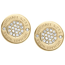 Buy Michael Kors Crystal Stud Earrings Online at johnlewis.com