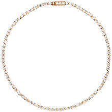 Buy Estella Bartlett Fine Sterling Silver Mini Tennis Bracelet Online at johnlewis.com