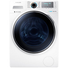 Buy Samsung WD90J7400GW Freestanding Washer Dryer, 9kg Wash/6kg Dry Load, A Energy Rating, 1400rpm Spin, White Online at johnlewis.com