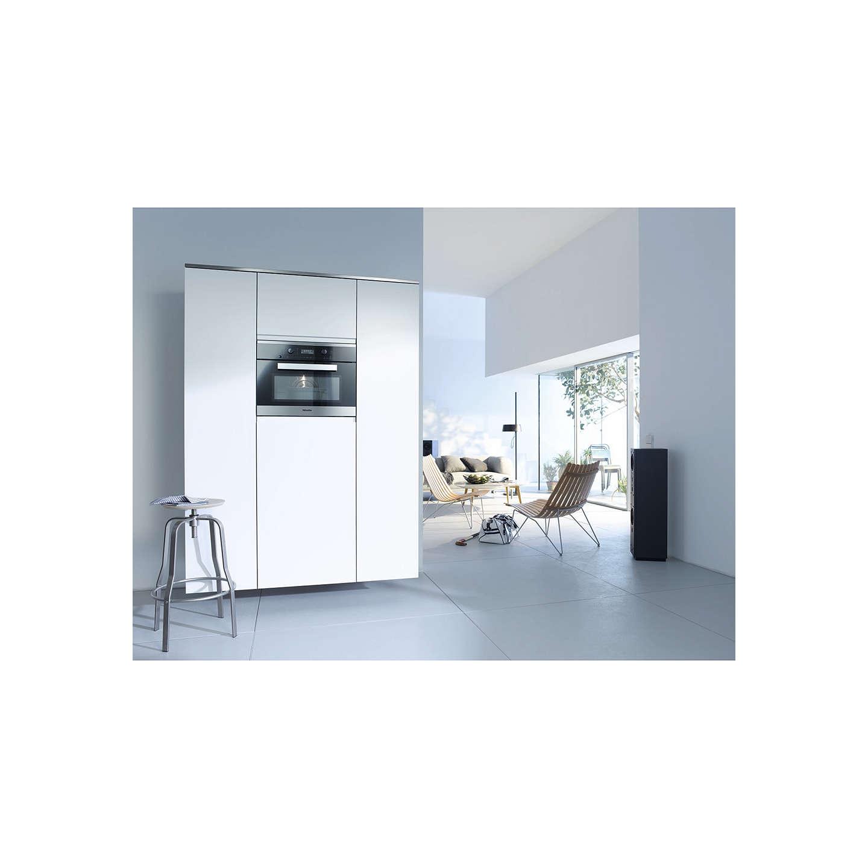 miele m6260 tc microwave clean steel at john lewis. Black Bedroom Furniture Sets. Home Design Ideas