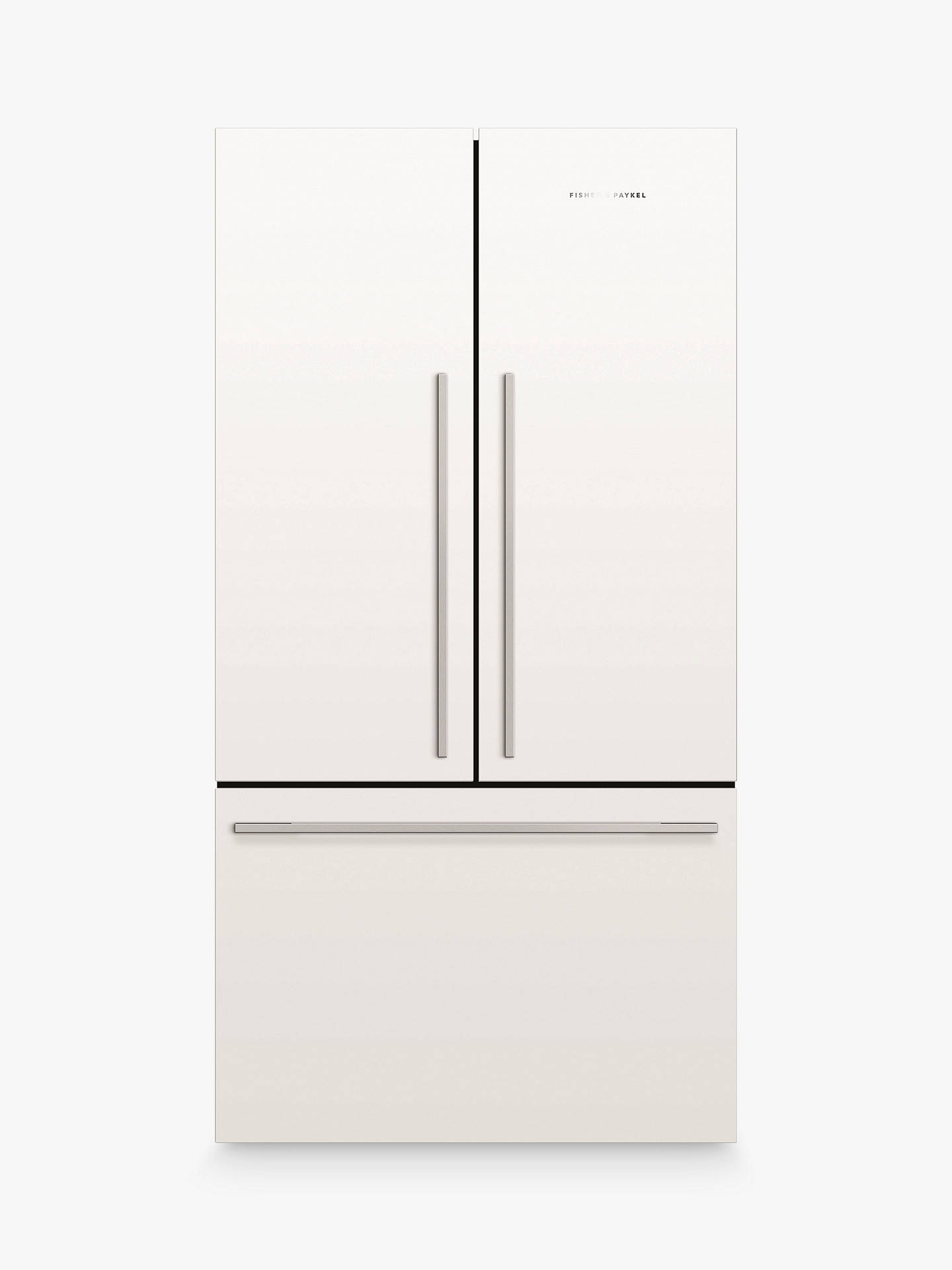 Buy Fisher & Paykel RF610ADW4 American Style Freestanding 60/40 Fridge Freezer, A+ Energy Rating, 90cm Wide, White Online at johnlewis.com