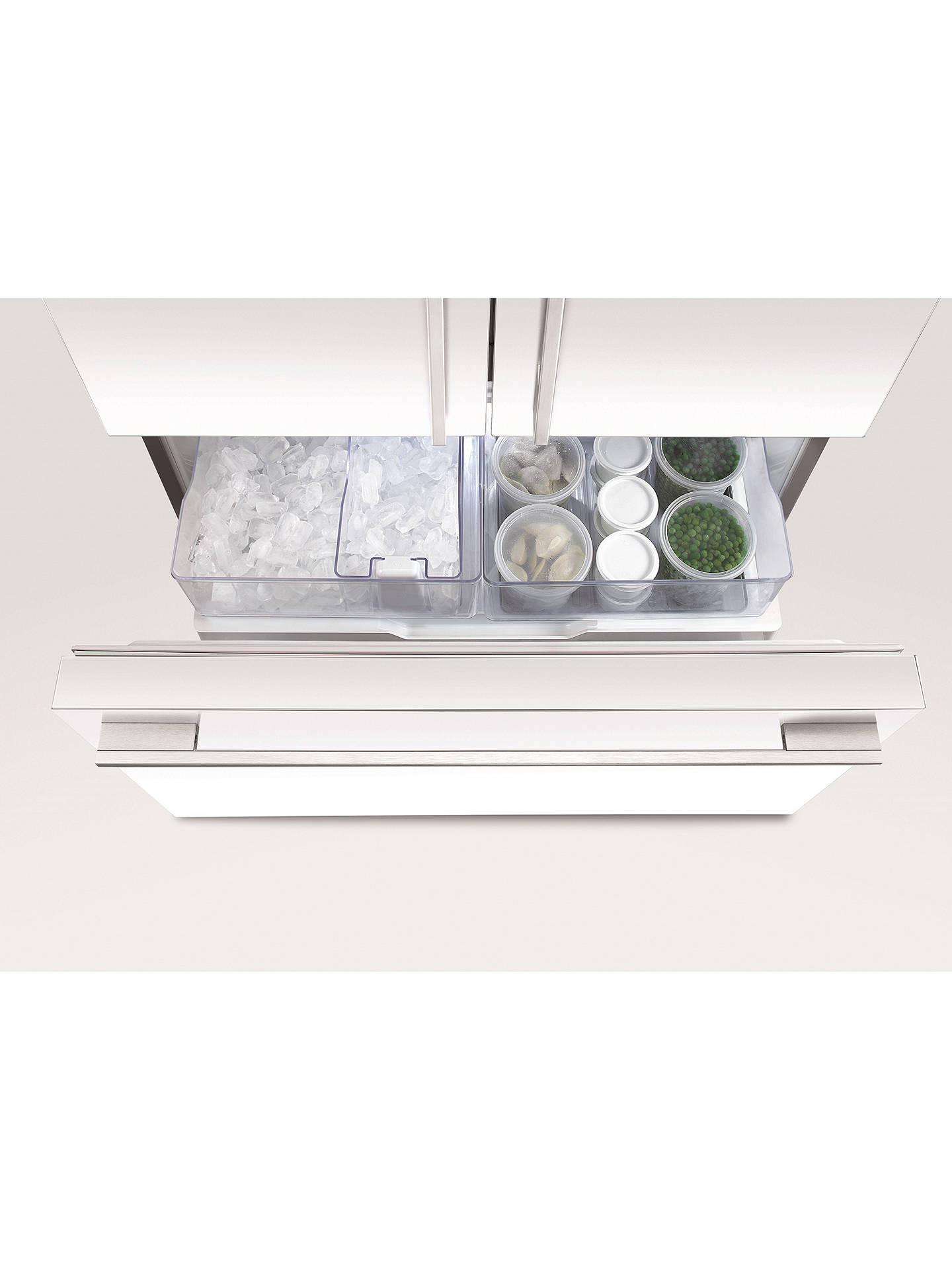 Buy Fisher & Paykel RF522ADW4 Freestanding 60/40 Fridge Freezer, A+ Energy Rating, 79cm Wide, White Online at johnlewis.com
