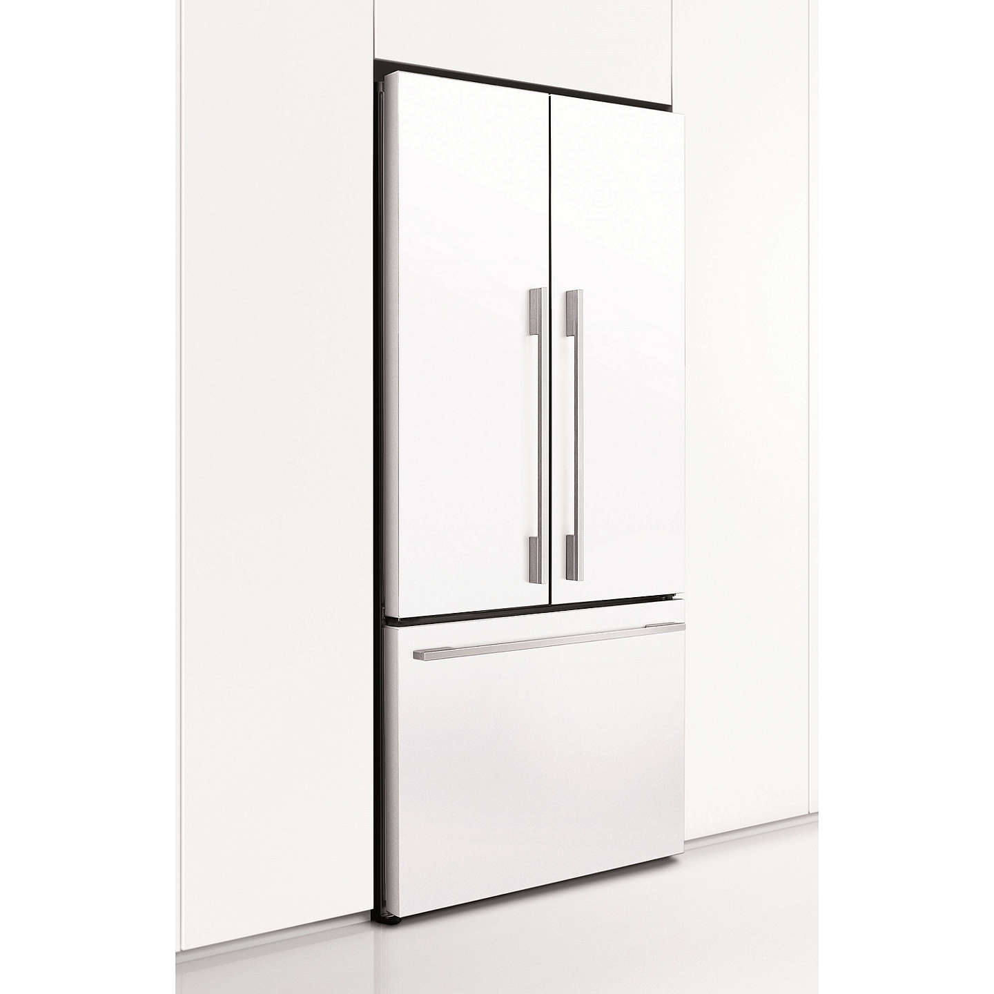BuyFisher & Paykel RF522ADW4 Fridge Freezer, A+ Energy Rating, 79cm Wide, White Online at johnlewis.com