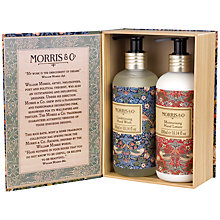 Buy Heathcote & Ivory Morris & Co Strawberry Thief Hand Wash and Hand Lotion Duo Gift Set Online at johnlewis.com