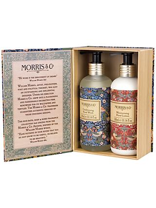 Morris & Co. Strawberry Thief Hand Wash & Lotion Duo
