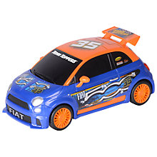 Buy Toy Slate Road Rippers Fiat 500 Hatchback Online at johnlewis.com