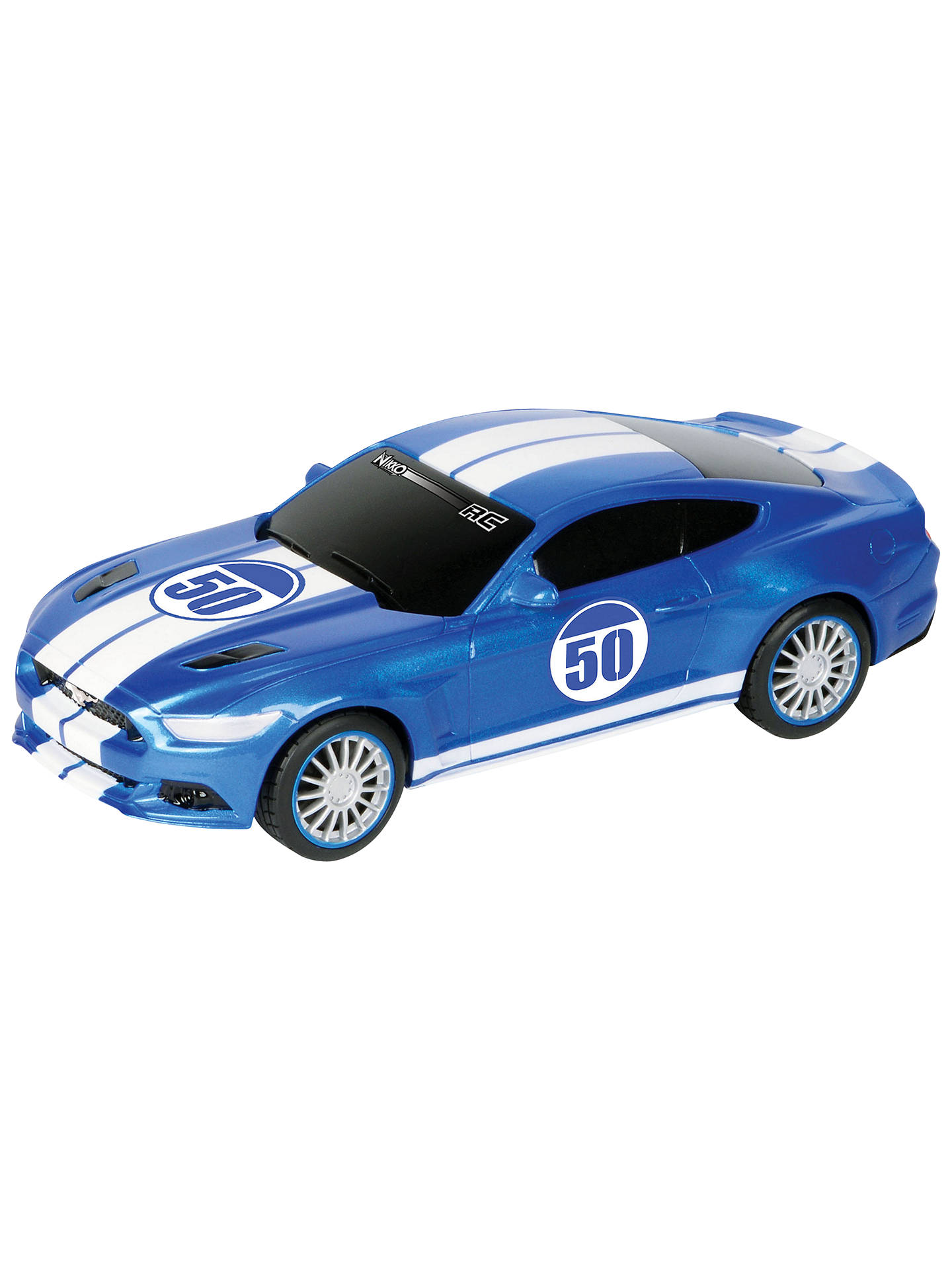 Buy nikko ford mustang gt 120 remote control car blue online at johnlewis
