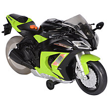 Buy Road Rippers Kawasaki ZX10R Wheelie Bike Toy, Green Online at johnlewis.com