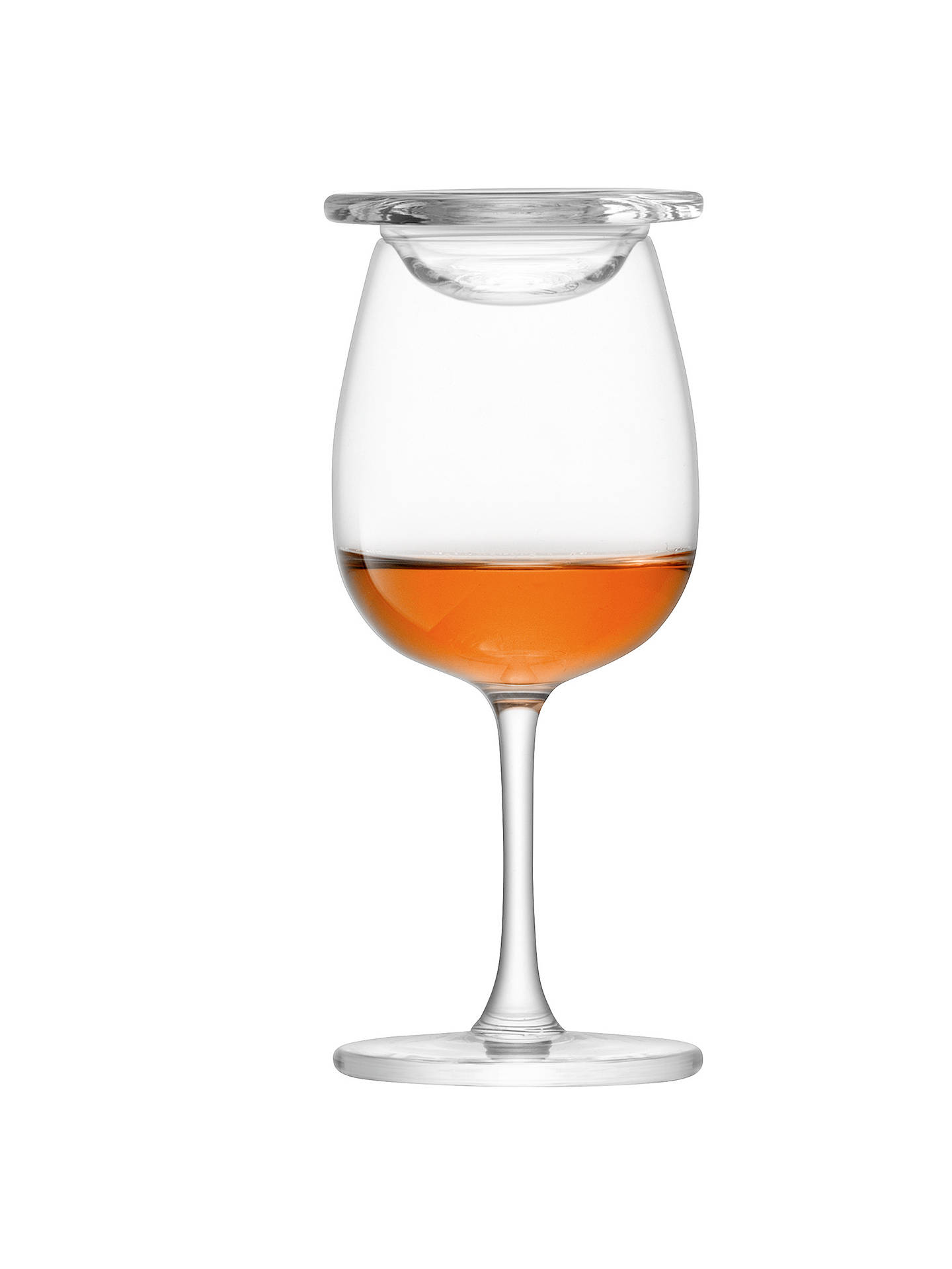 lsa international whisky stem nosing glasses with glass covers set of 2 at john lewis partners. Black Bedroom Furniture Sets. Home Design Ideas