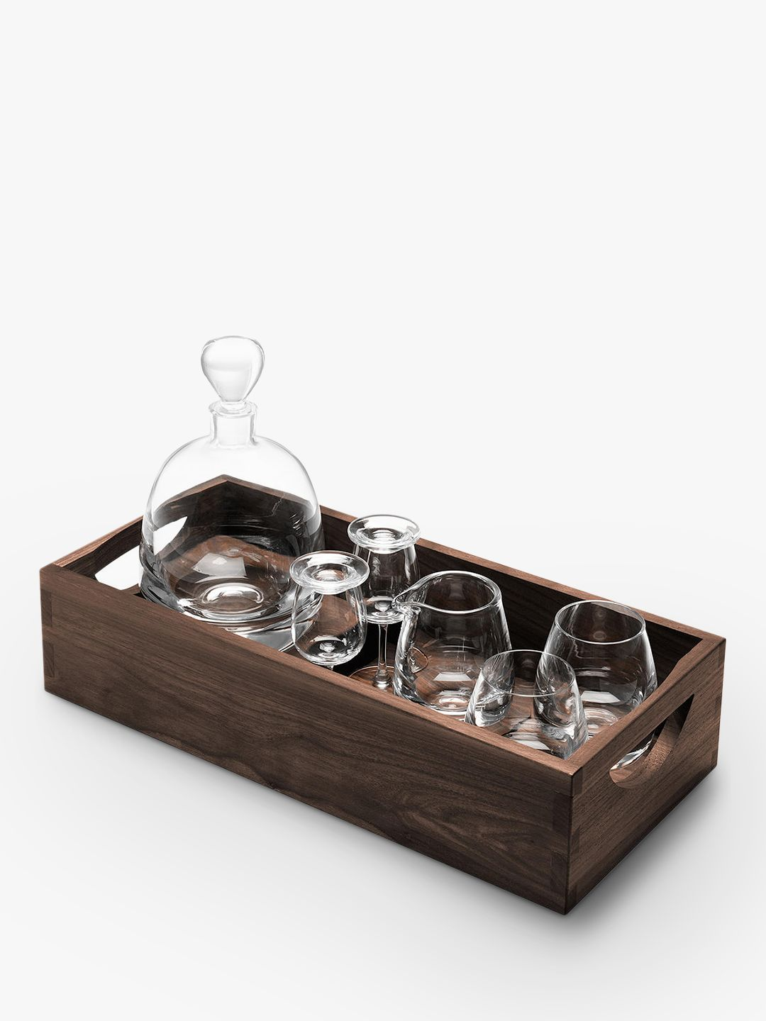 LSA International LSA International Whisky Decanter & Glasses Gift Set, 7 Pieces