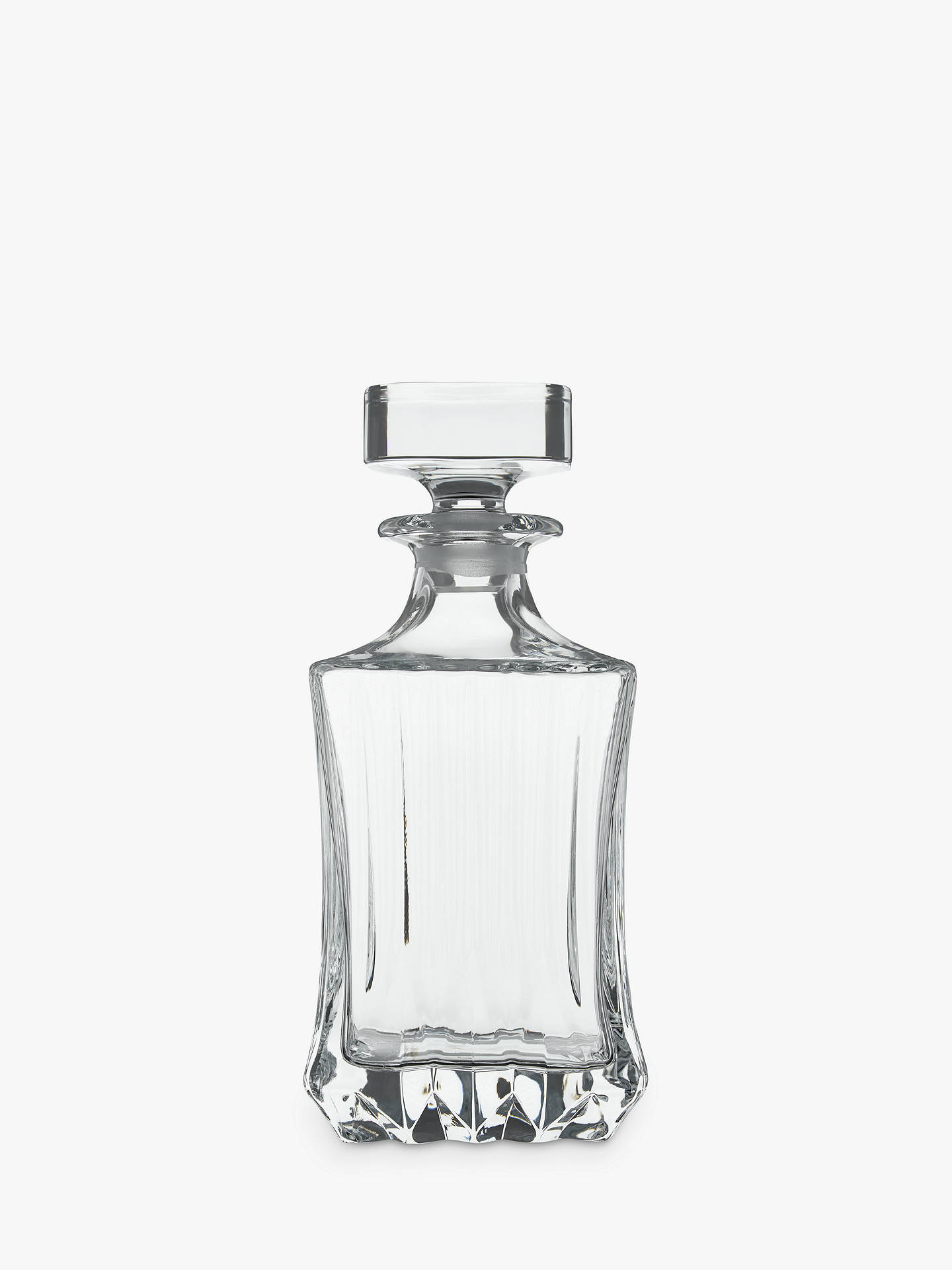 Buy John Lewis & Partners Paloma Crystal Glass Decanter Online at johnlewis.com
