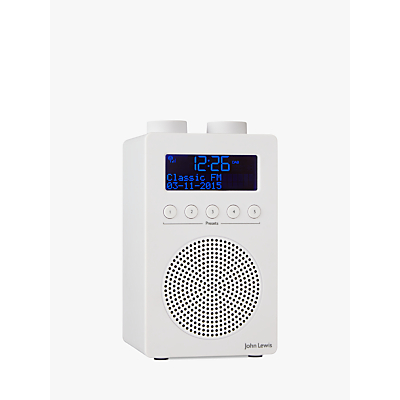 Image of John Lewis & Partners Spectrum Solo Portable DAB+/FM Digital Radio