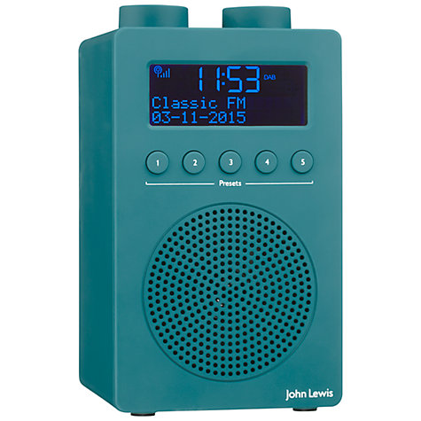 John Lewis Spectrum Solo Dab Fm Digital Radio Online At Johnlewis