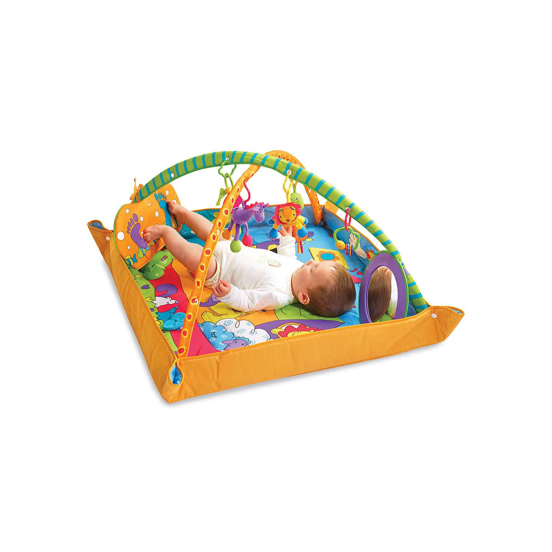 toys lights vibrant village smart activity and gym mat v com skiphop playtime
