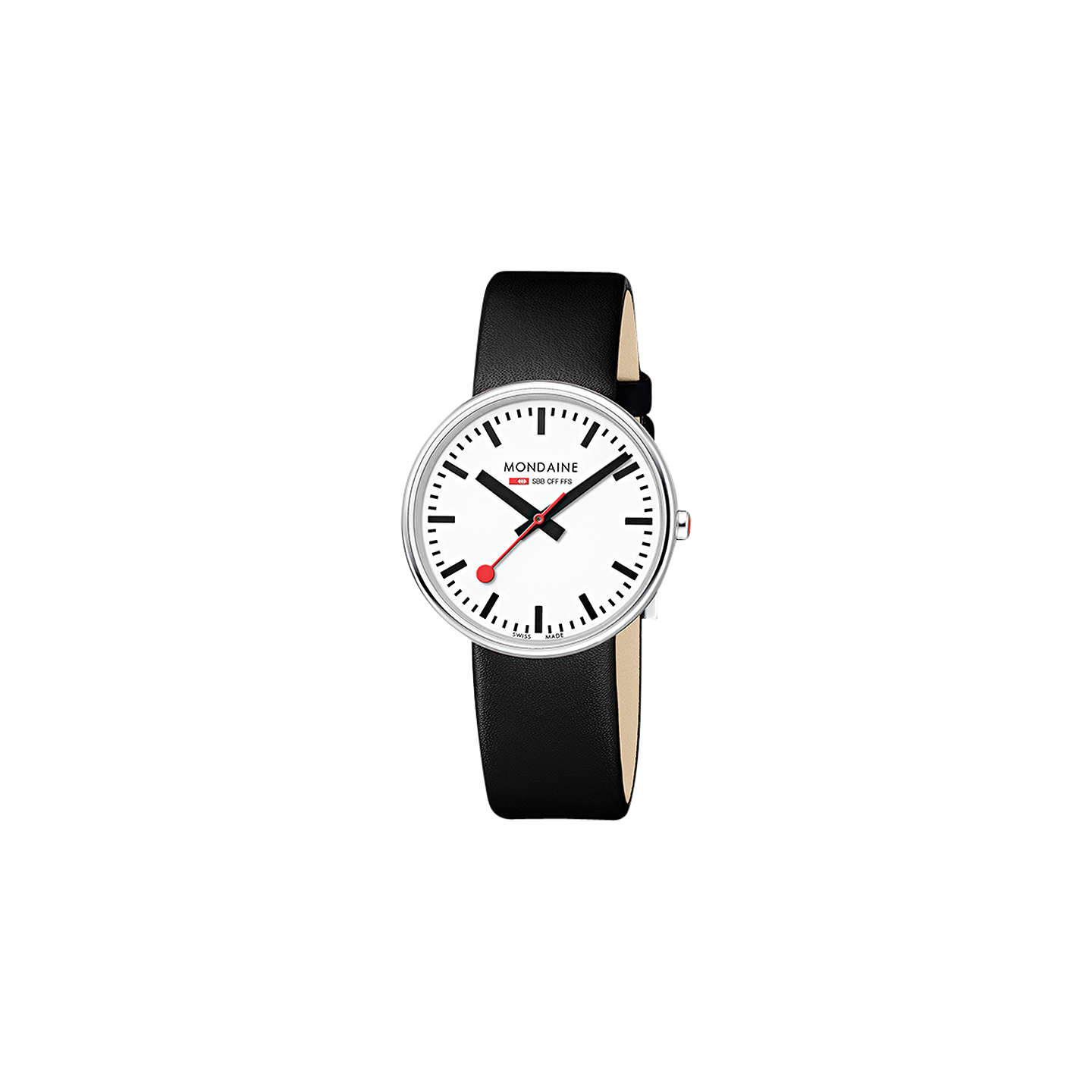 lewis watch main john leather watches mondaine rsp online at buymondaine white johnlewis giant pdp mini strap unisex black
