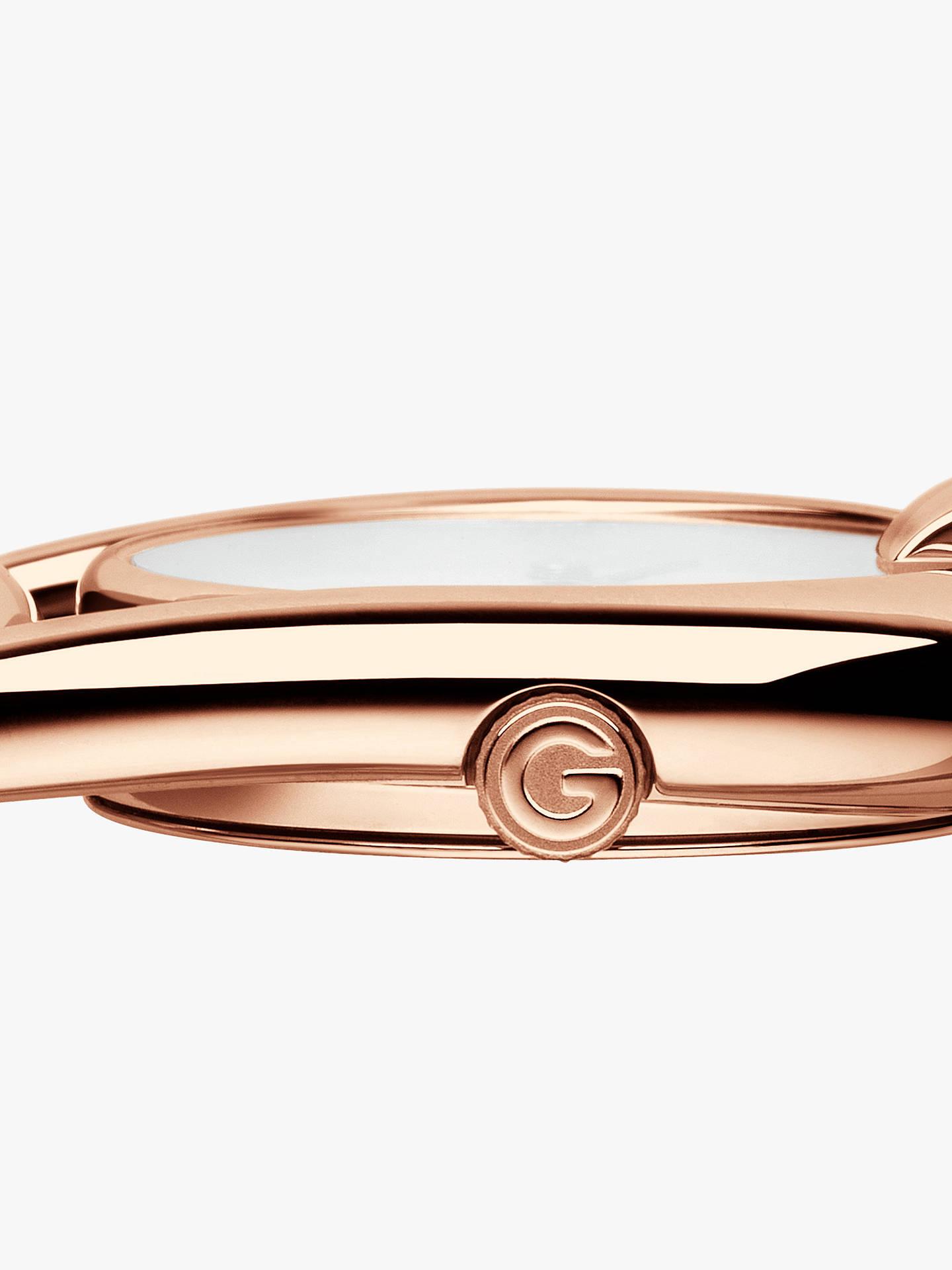 f8841eaa890 ... Buy Gucci YA139508 Women s Horsebit Diamond Bracelet Strap Watch