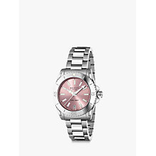 Buy Gucci YA136401 Women's Dive Stainless Steel Bracelet Strap Watch Online at johnlewis.com