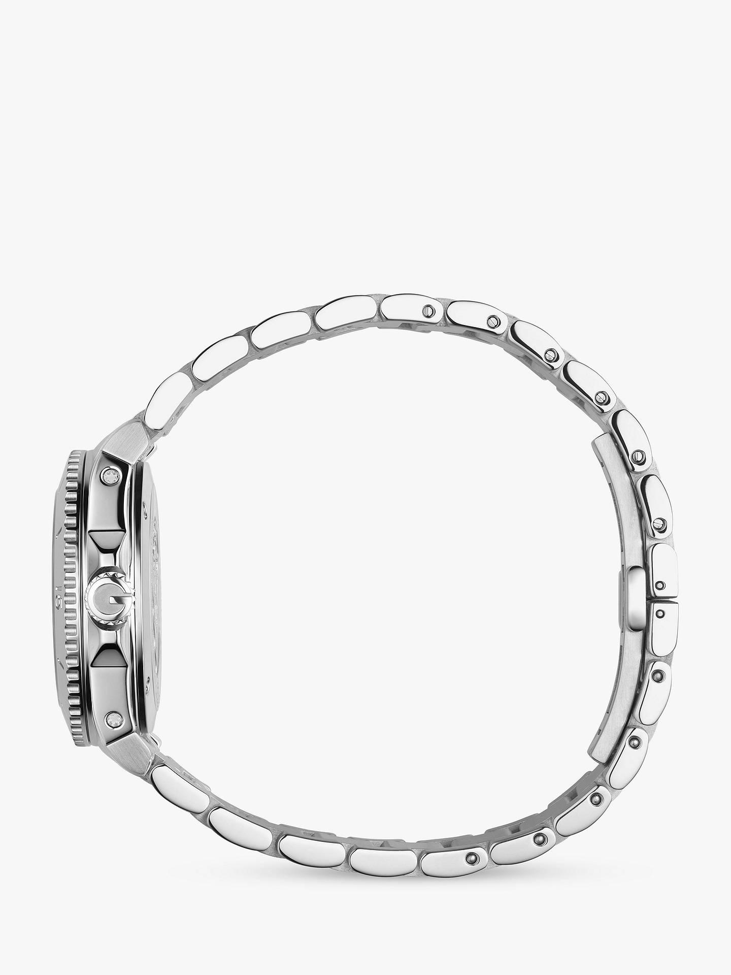 Gucci YA136401 Women's Dive Stainless Steel Bracelet Strap