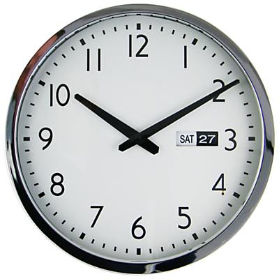John Lewis Bedford Date Wall Clock, Dia. 35cm
