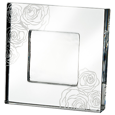Monique Lhuillier for Waterford Sunday Rose Frame, 2 x 2 (5 x 5cm)