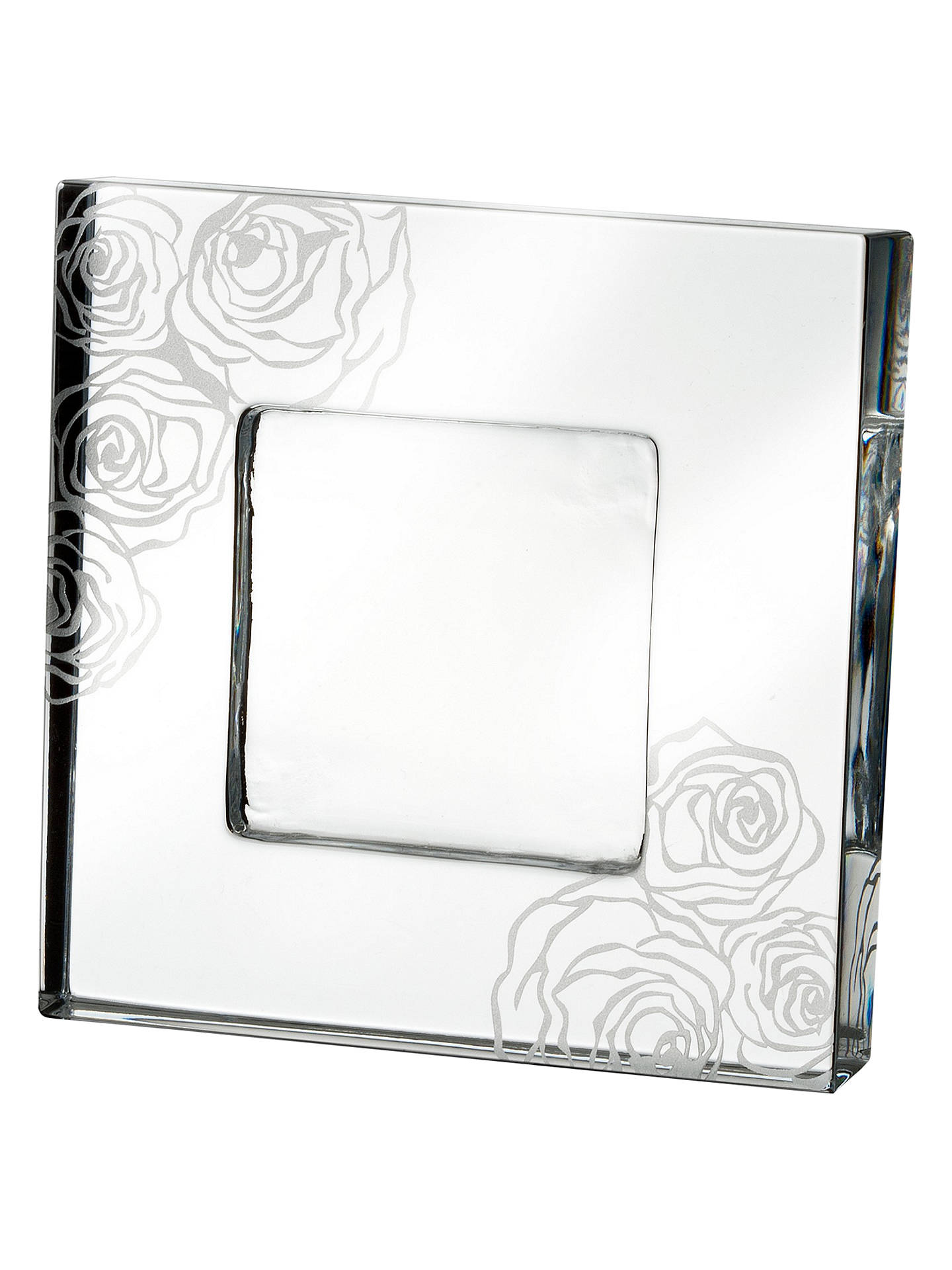 Monique Lhuillier for Waterford Sunday Rose Frame, 2 x 2\