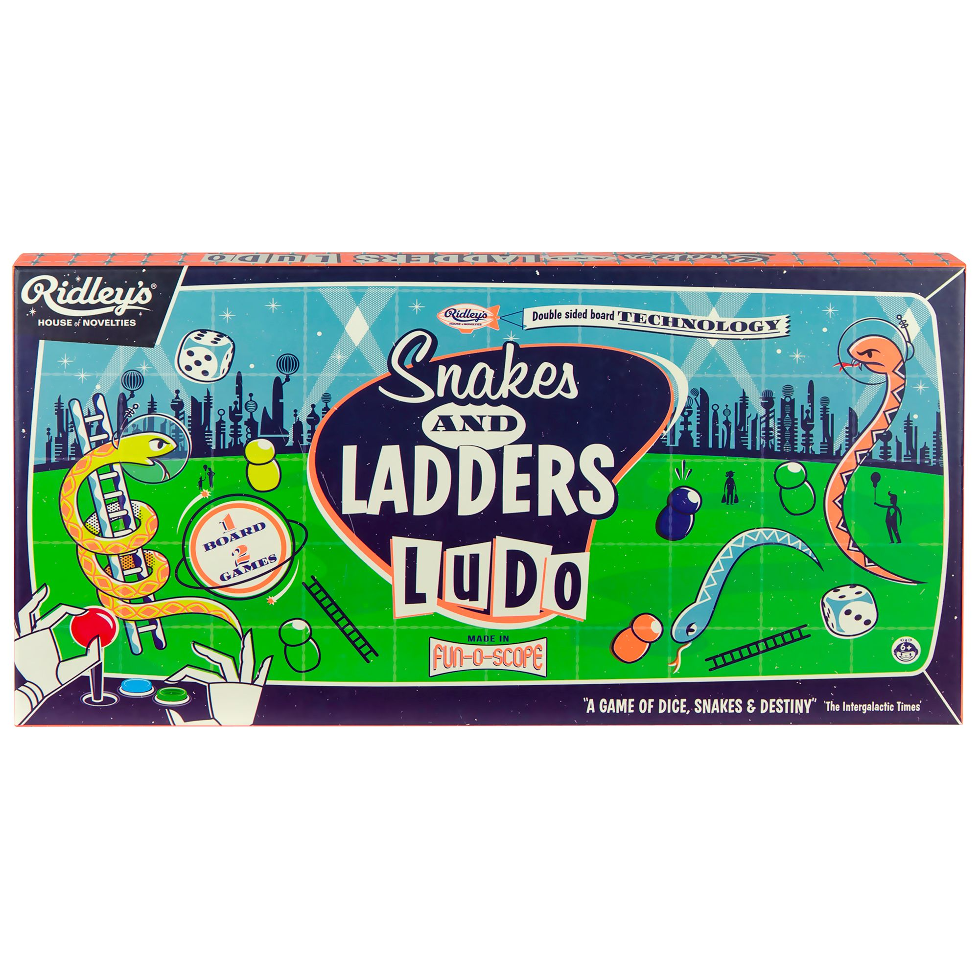 cf3431c27b9a Ridley's Snakes And Ladders Board Game at John Lewis & Partners