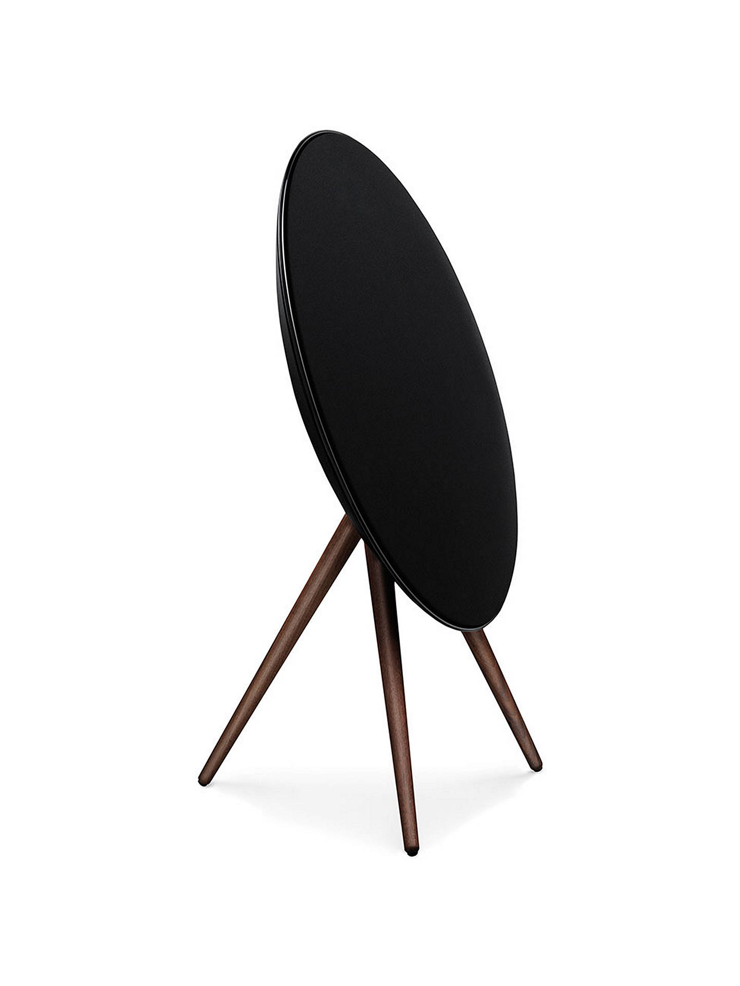 Buy Bang & Olufsen Beoplay A9 Bluetooth, AirPlay, Google Cast & DLNA Music System, Black with Walnut Legs Online at johnlewis.com