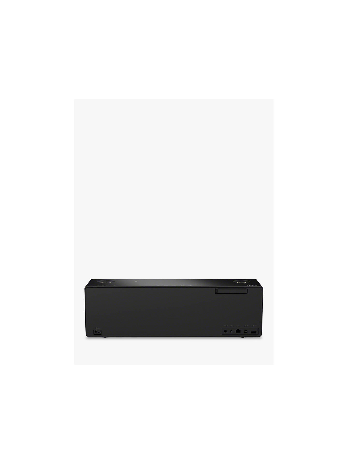 BuySony SRS-X99 Multiroom Wireless Bluetooth NFC Wi-Fi Airplay 2.1 Channel Speaker with High Resolution Audio & Intuitive Handling, Black Online at johnlewis.com