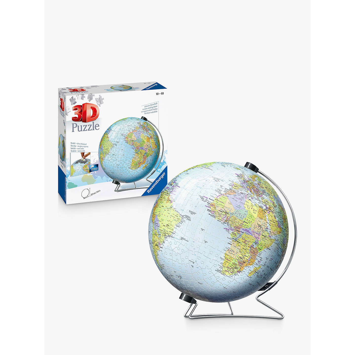 Ravensburger the world 3d jigsaw puzzle 540 pieces at john lewis buyravensburger the world 3d jigsaw puzzle 540 pieces online at johnlewis gumiabroncs Image collections