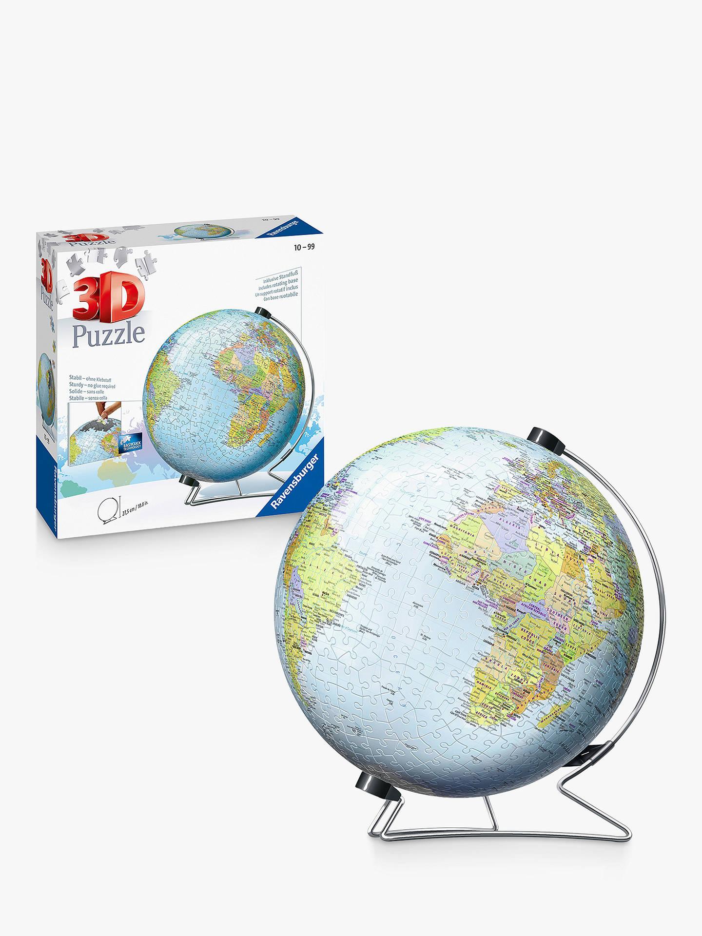 Ravensburger The World 3D Jigsaw Puzzle, 540 Pieces