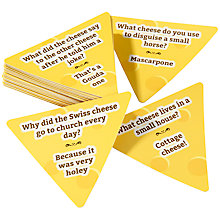 Buy Talking Tables Cheesy Jokes Game Online at johnlewis.com