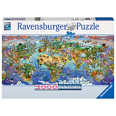 Image of Ravensburger World Wonders Jigsaw Puzzle, 2000 Pieces