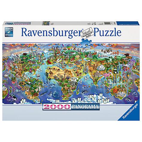 Buy ravensburger world wonders jigsaw puzzle 2000 pieces john lewis buy ravensburger world wonders jigsaw puzzle 2000 pieces online at johnlewis gumiabroncs Gallery