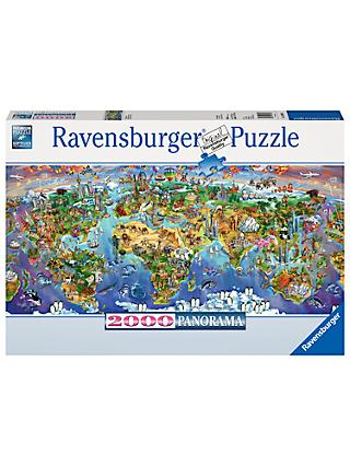 Ravensburger World Wonders Jigsaw Puzzle, 2000 Pieces