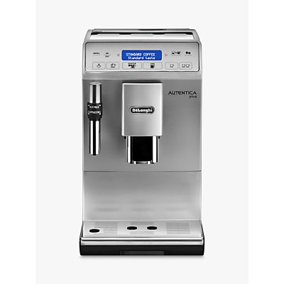 De'Longhi Autentica Plus ETAM 29.620.SB Bean-to-Cup Coffee Maker, Silver/Black