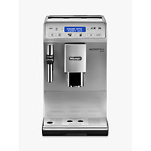 Buy De'Longhi Autentica Plus ETAM 29.620.SB Coffee Maker, Silver/Black Online at johnlewis.com