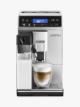 De'Longhi Autentica Cappucino ETAM 29.660.SB Bean-to-Cup Coffee Maker, Silver