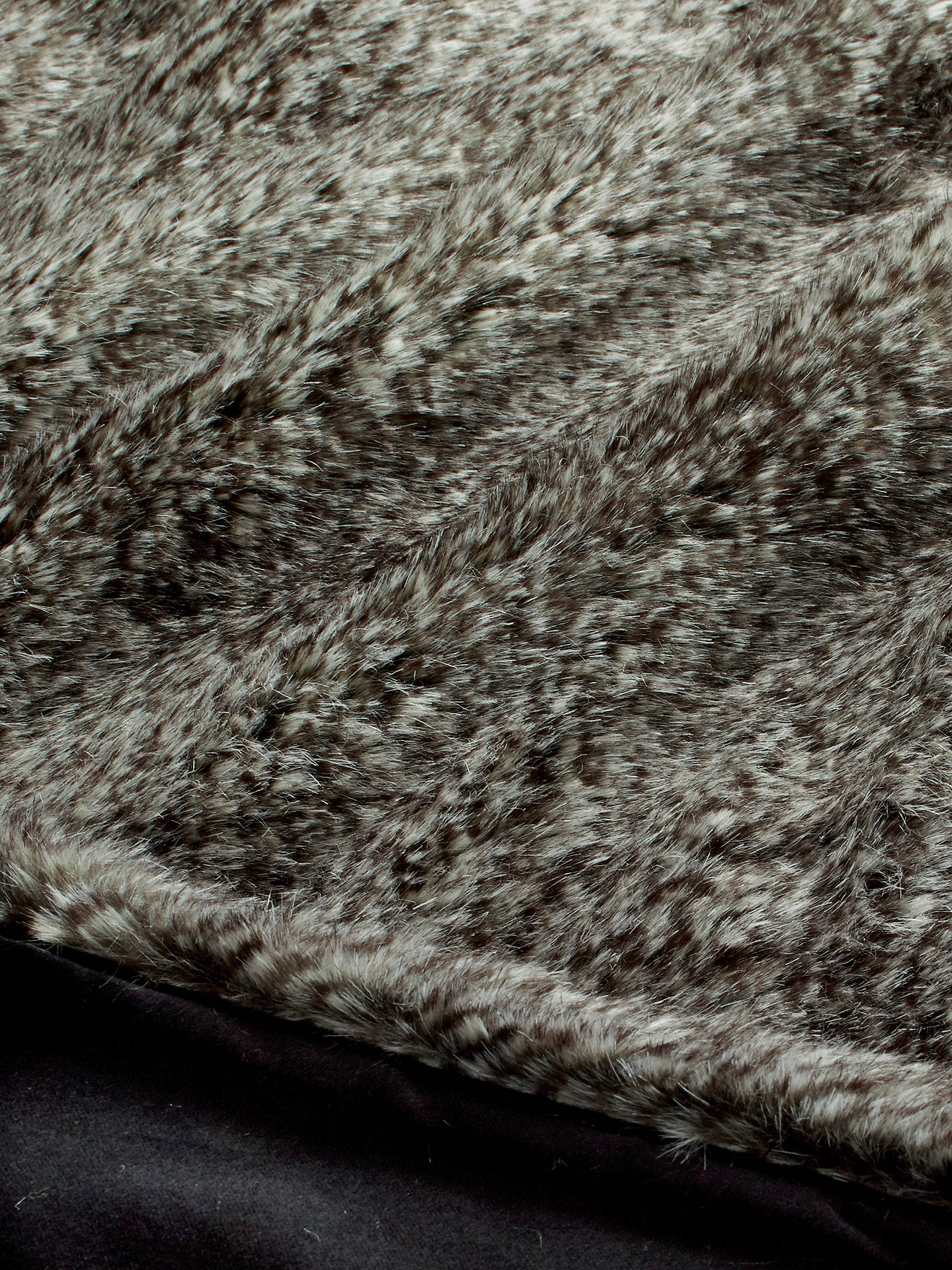 BuyHelene Berman Faux Fur Chevron Rabbit Throw Online at johnlewis.com