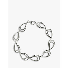 Buy Nina B Sterling Silver Open Links Bracelet Online at johnlewis.com