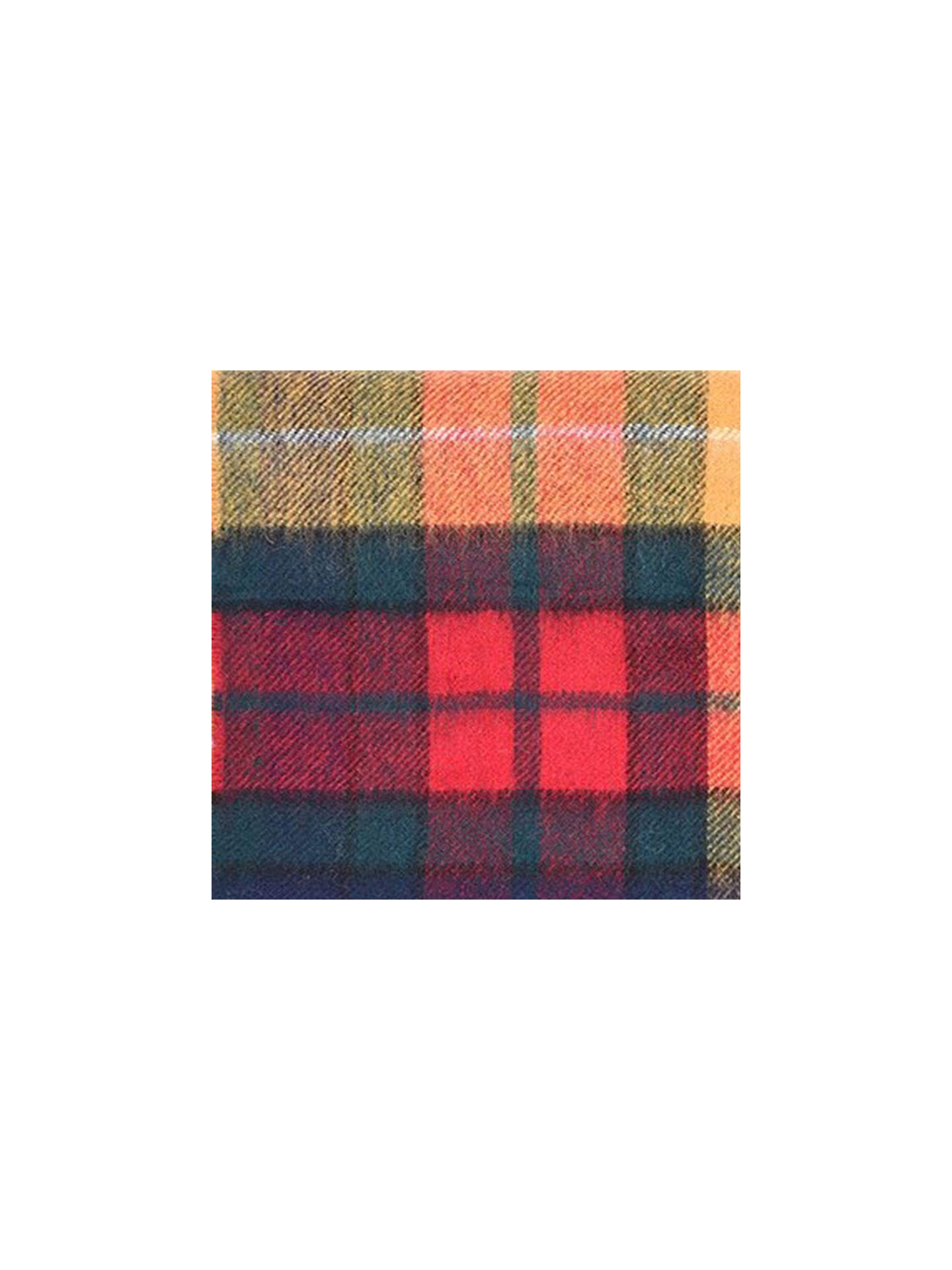 BuyBarbour New Tartan Lambswool Scarf, Multi-coloured Online at johnlewis.com