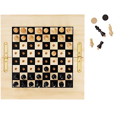 Image of John Lewis Chess & Draughts Travel Game
