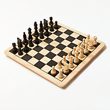 Buy John Lewis Chess & Draughts Game Online at johnlewis.com